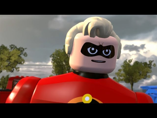 LEGO The Incredibles Walkthrough Part 1 - Chapter 1: Undermined (The Incredibles 2)