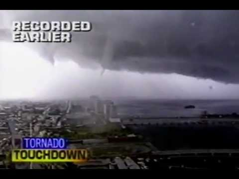 SHOCKING Miami Tornado May 1997 CRAZY