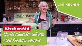 Mit dem KitchenAid FoodProcessor Würfel schneiden 5KSM2FPA | by One Kitchen