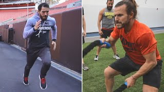 Johnny Gargano and Adam Cole train for NXT Title Match