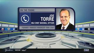 Joe Torre on Mariano Rivera, Mike Mussina entering Hall of Fame