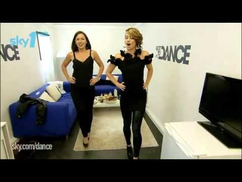 Kimberly Wyatt  Dance Masterclass with Davina