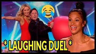 """Top 3 """"HILARIOUS & FUNNY"""" Moments On Britain's Got Talent 2016 - 2018!"""