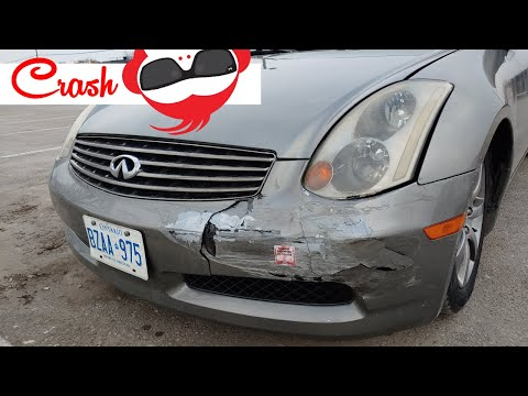 How to: Infiniti G35 Aggressive Front Bumper Install