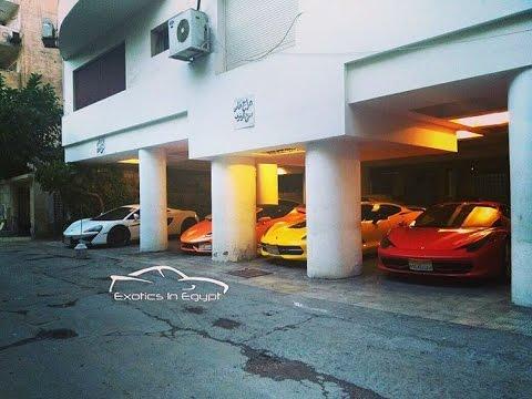 luxury cars in Egypt السيارات الفارهة في مصر   Lamborghini, McLaren, Ferrari, Audi,Bentley, R8 , i8,