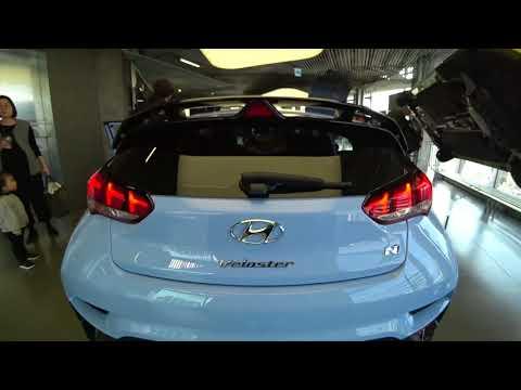 Close Look at Hyundai Veloster N Pre production Hyundai Motor Studio Seoul