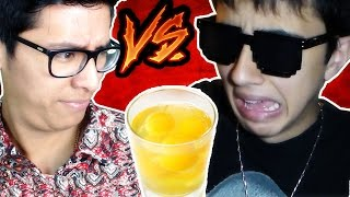 Who Loses Eats a Raw Egg With Francisco Parente ROBLOX HAPPY WHEELS
