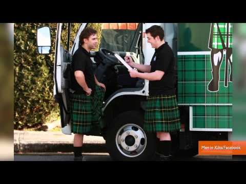 Kilt-Wearing Male House Cleaners Are Big Business