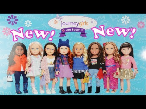 New 2019 Journey Girls Doll Review American Girls Compatible