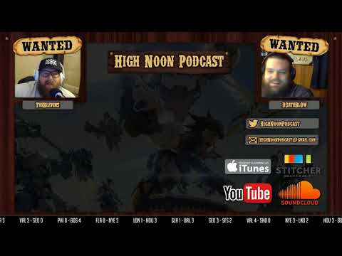 High Noon Podcast 105 - Scoreboard, baby!