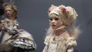 искусство куклы в Гостином дворе. Куклы и кукольники