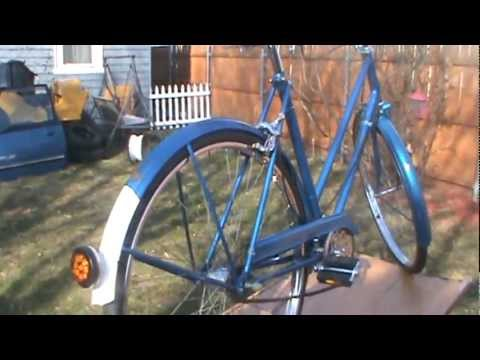 Bike Shop Nottingham >> VINTAGE RALEIGH BICYCLE YEARS 60'S - YouTube