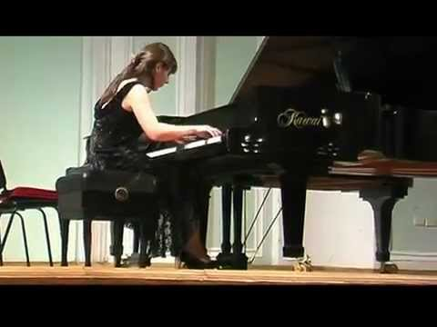 Shorena Tsintsabadze plays Hungarian Rhapsody No. 2