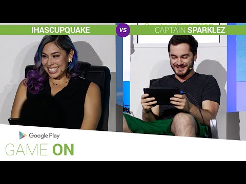 iHasCupquake vs. CaptainSparklez [Angry Birds 2] //  Google Play: Game On
