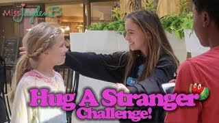 Video Hug A Stranger Challenge! download MP3, 3GP, MP4, WEBM, AVI, FLV September 2017