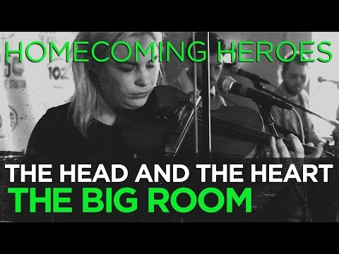 "The Head and the Heart ""Homecoming Heroes"" live in the CD102.5 Big Room"