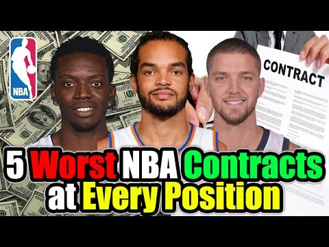 5 Worst NBA Contracts at Every Position