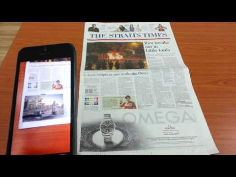 Augmented Reality - Newspaper AR