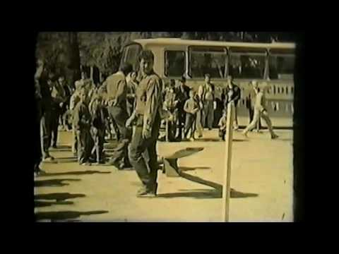Gołdap Plac zwycięstwa rozrywka handel lat 80 tych