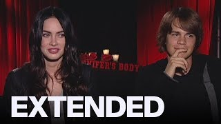 Megan Fox Talks 'Jennifer's Body', Jokes With Johnny Simmons | EXTENDED