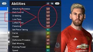 PES 2017 CHEAT PLAYER STATS WORK 100%  ML & BL (UPDATE)