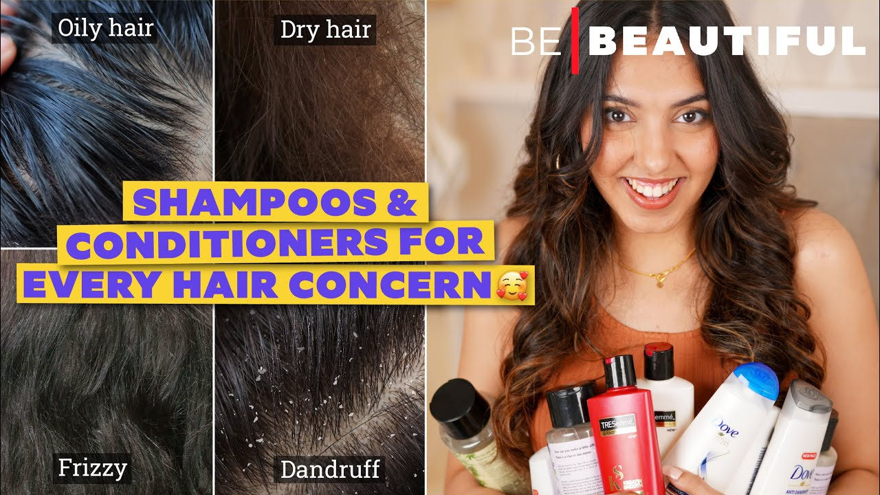 5 BEST Drugstore Shampoos & Conditioners For Every Hair Concern   Be Beautiful