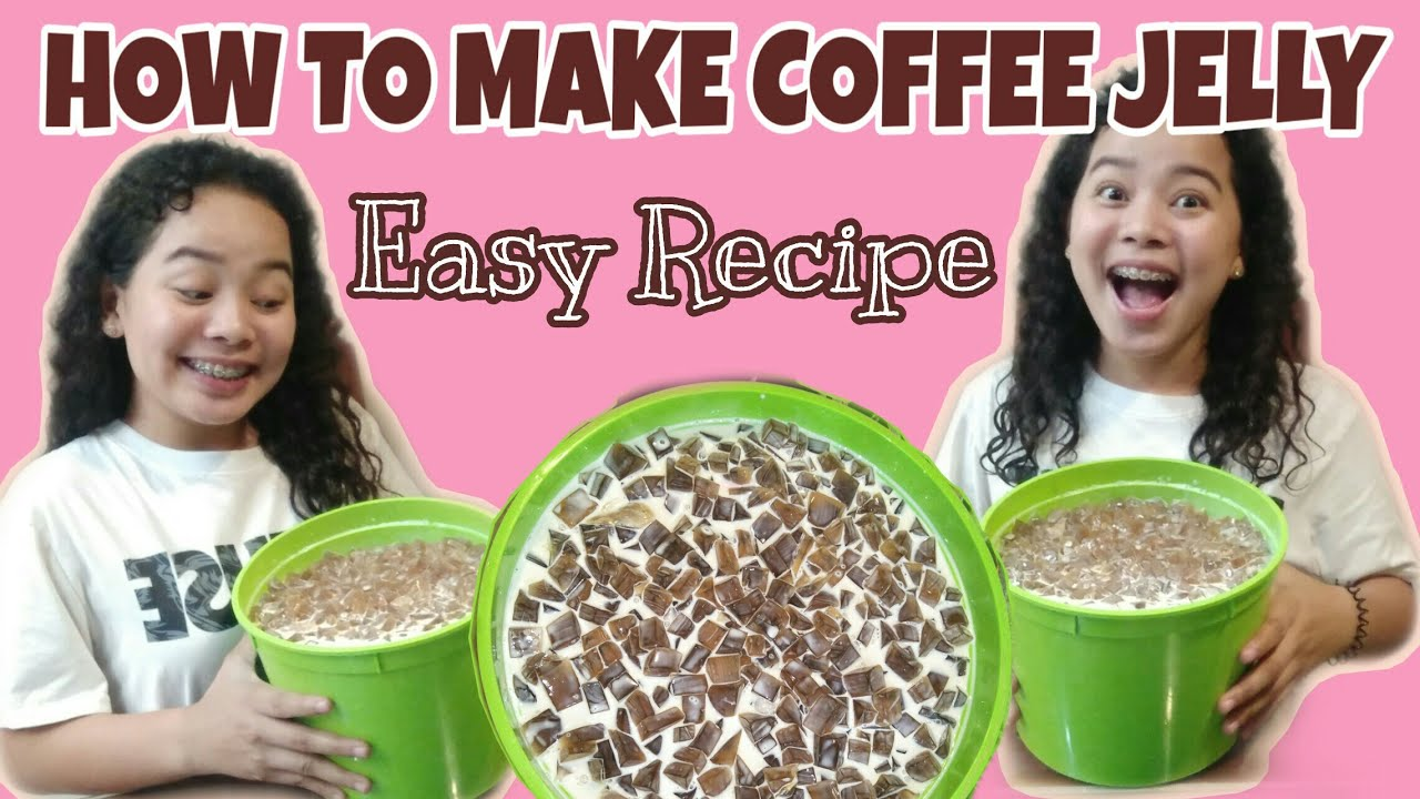 HOW TO MAKE COFFEE JELLY | EASY RECIPE | Kyle Asistio ...
