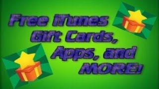 USE THE LINK IN DESC! How to Get Free iTunes Gift Cards, Apps, and More!