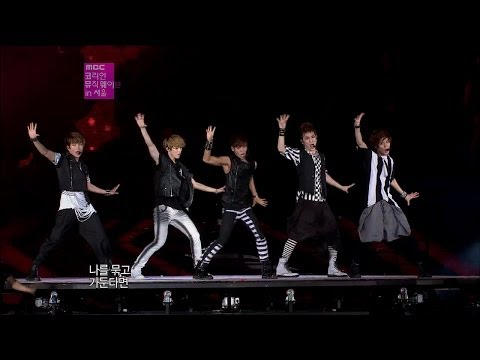 【TVPP】SHINee - Lucifer, 샤이니 - 루시퍼 @ Korean Music Wave in Seoul Live