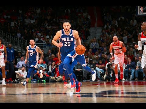 FULL Game Highlights of Markelle Fultz and Ben Simmons' 76ers Debut's
