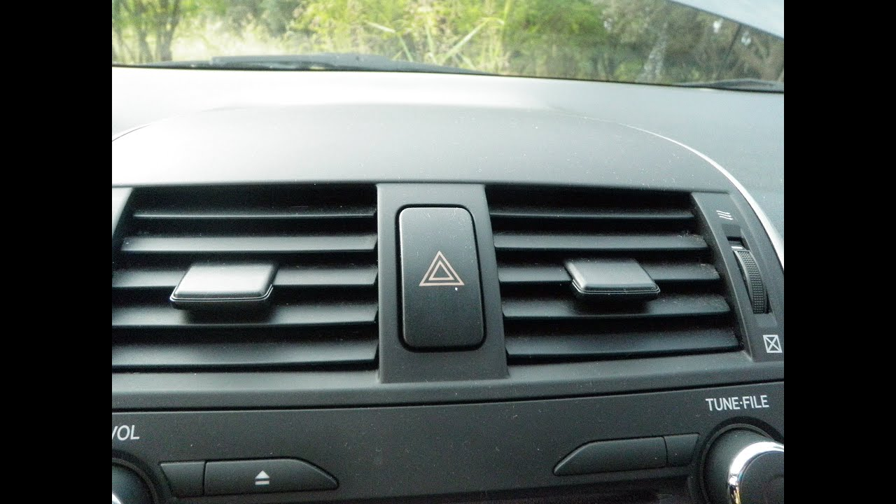 2008 Toyota Corolla How To Replace Switch Corner Turn Signal Lights Emergency Light With Relay For And Pictures Yiannis Pagonis