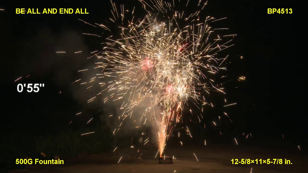 Be All and End All Brothers Pyrotechnics (Coming in 2019) | Red Apple Fireworks