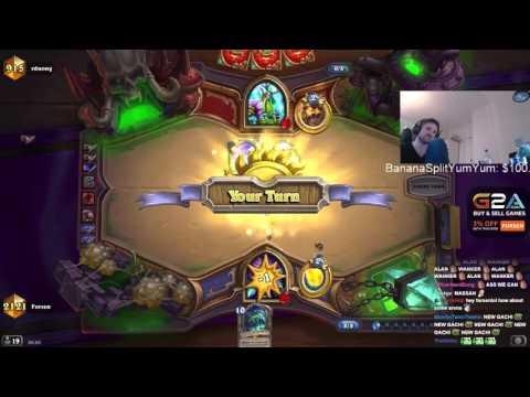 Yogg druid vs Forsen