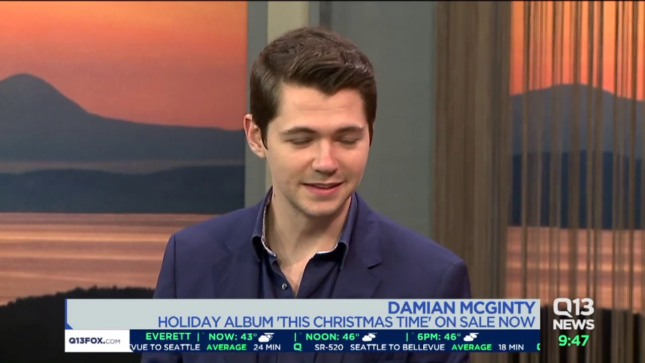 what is damian mcginty doing now
