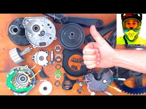 Bafang 8fun: from parts to complete BBS02 in 32 seconds! (time-lapse)  service / repair