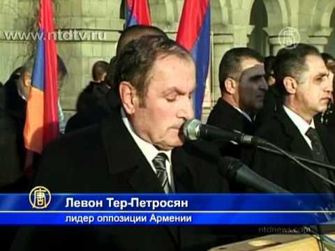 Тысячи людей вышли на митинг в центре Еревана