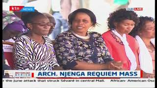We need to revisit the discussion between the state and the church -DP Ruto at Njenga\'s mass funeral