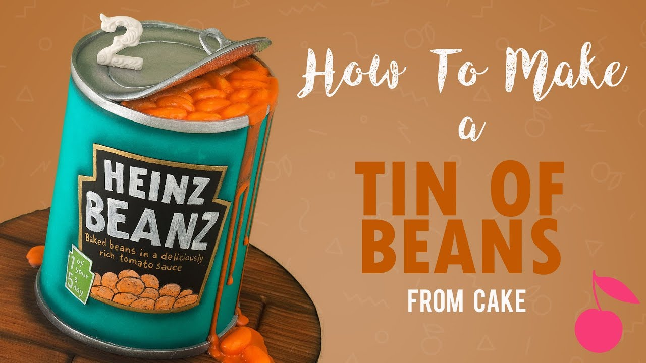 Tin Of Baked Beans Cake Heinz How To Cherry School Youtube