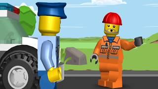 ***Мультики про машинки. ЛЕГО мультики -  Супер полицейский . LEGO Juniors ***