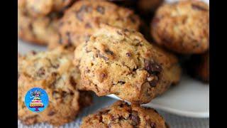 Шоколадное печенье всего за 2 минуты/Рецепт печенья с шоколадом