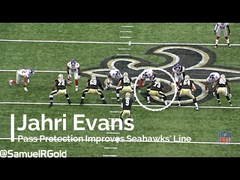 Jahri Evans Improves Seahawks