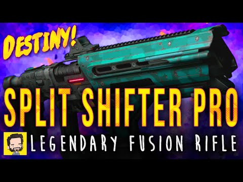Split Shifter Pro Legendary Fusion Rifle | Gameplay Review | Destiny (The Taken King)