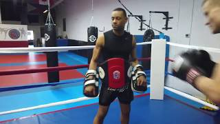 Ajax MMA Muay Thai Training Highlights March 2019