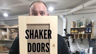 How To Make Shaker Doors