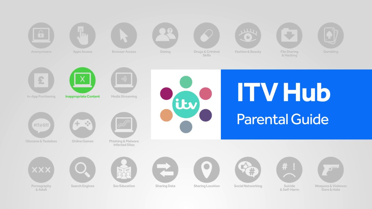 ITV Hub parental controls step-by-step guide | Internet Matters