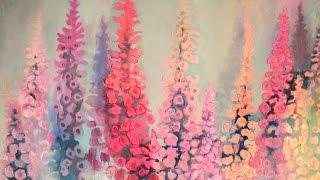 Alice-ART Flower Power, Dynamische Acrylmalerei