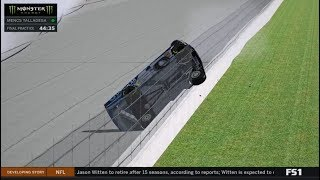 What If Jamie McMurray Got Stuck in the Catchfence?