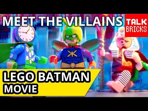 LEGO Batman Movie Meet the Villains Clip Breakdown! PLUS Huge Casting News! Clock King!