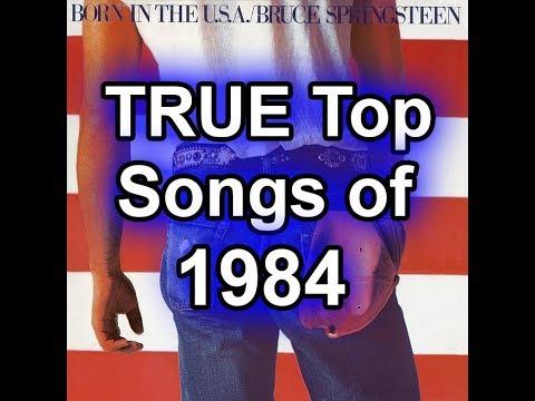 The TRUE Top 50 Songs of 1984 - Best Of List