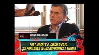 MACRI Y EL CIRCULO ROJO - NOTAS DE TONY 05-09-13